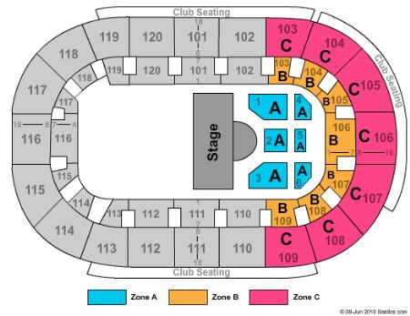 Map Of Germain Arena Wiring Schematic Diagram