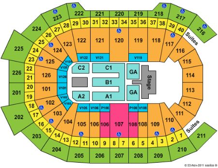 Giant Center Tickets and Giant Center Seating Chart - Buy Giant