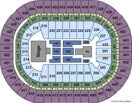 Honda Center Anaheim Seating Chart Rows - Best Picture Of Chart