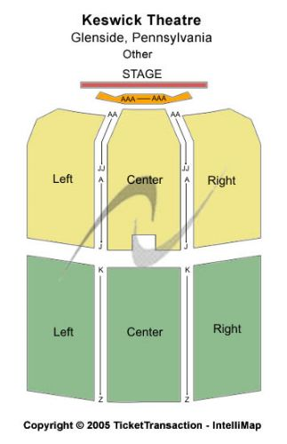 Keswick Theatre Glenside Pa Seating Chart Awesome Home