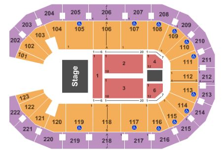Landers Center Tickets and Landers Center Seating Chart - Buy