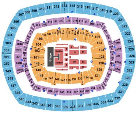 metlife stadium seating chart - Heartimpulsar