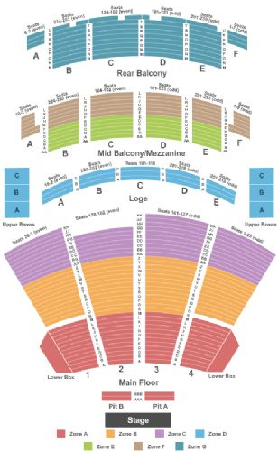 Palace Theatre Columbus Seating Map Brokeasshome
