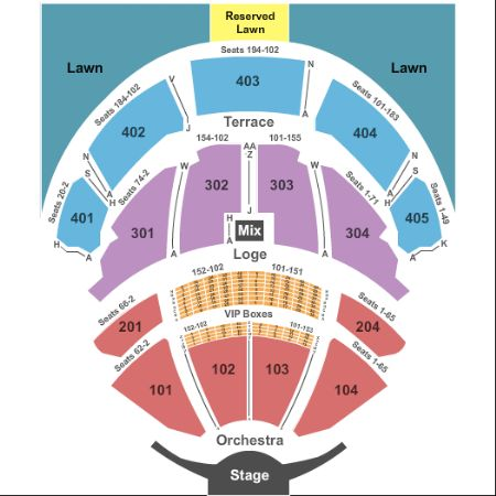 pnc bank arts center seating chart - Morenimpulsar