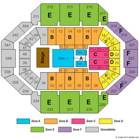 Rupp Arena Tickets and Rupp Arena Seating Chart - Buy Rupp Arena