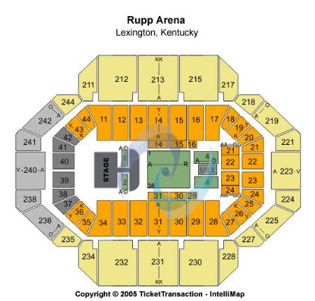 rupp arena seating chart concert unique rupp arena basketball