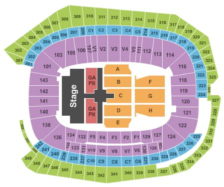 US Bank Stadium Tickets and US Bank Stadium Seating Chart - Buy US