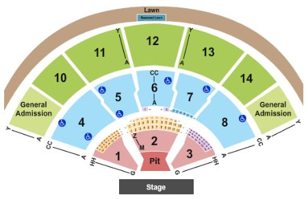 Xfinity Center Tickets and Xfinity Center Seating Chart - Buy