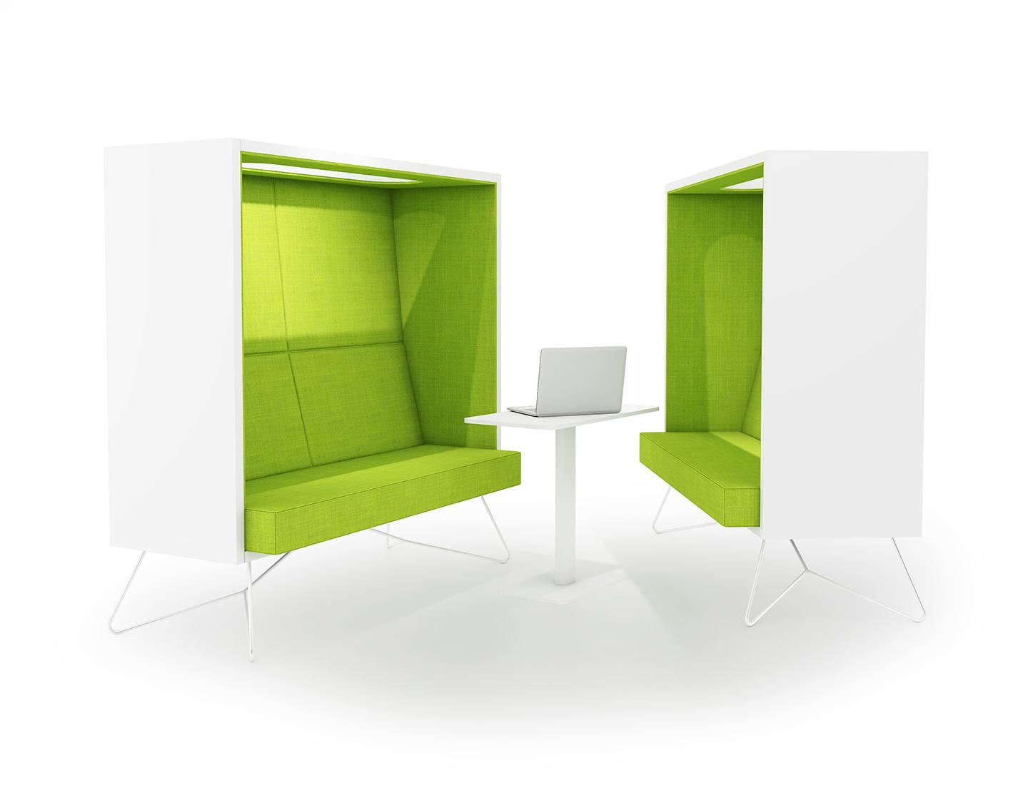 Interio Bettsofa Helsinki Cube Is A Functional Lounge Sofa For Office Into The Nordic Silence