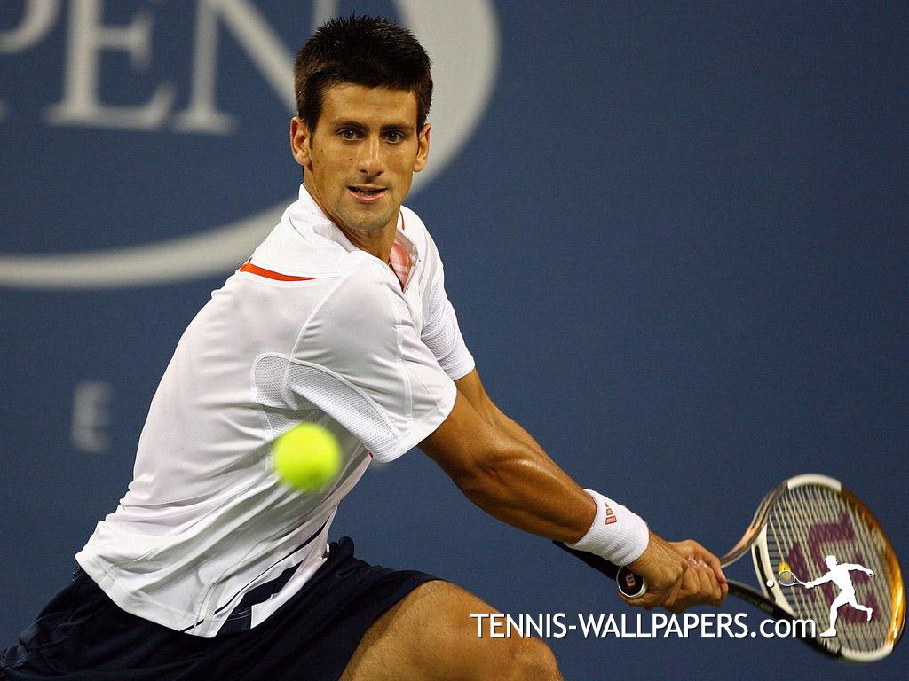 Wallpaper Tennis Girl Novak Djokovic Into Tennis