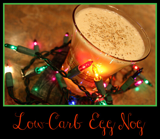 Low-Carb Eggnog Recipe
