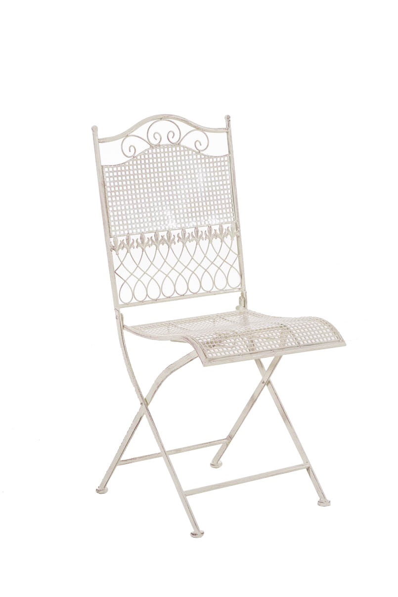 Klappstuhl Garten Metall Chair Kiran Garden Folding Iron Metal Shabby Chic Vintage