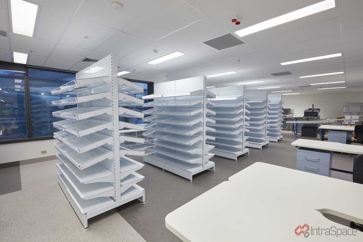 Shelving Adelaide Royal Adelaide Hospital Intraspace