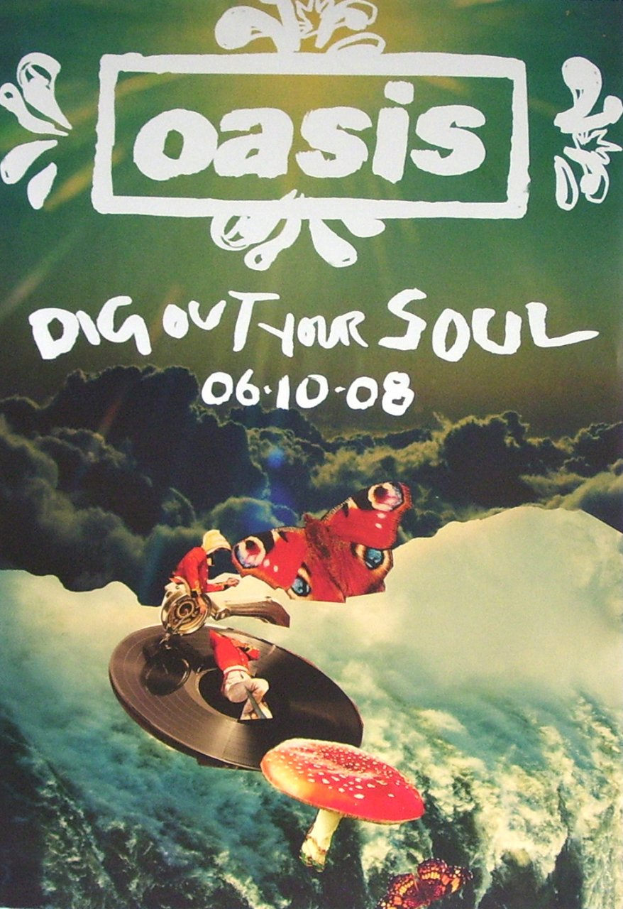 Sport Mat Oasis 'dig Out Your Soul' – Intro Uk - Design / Direction