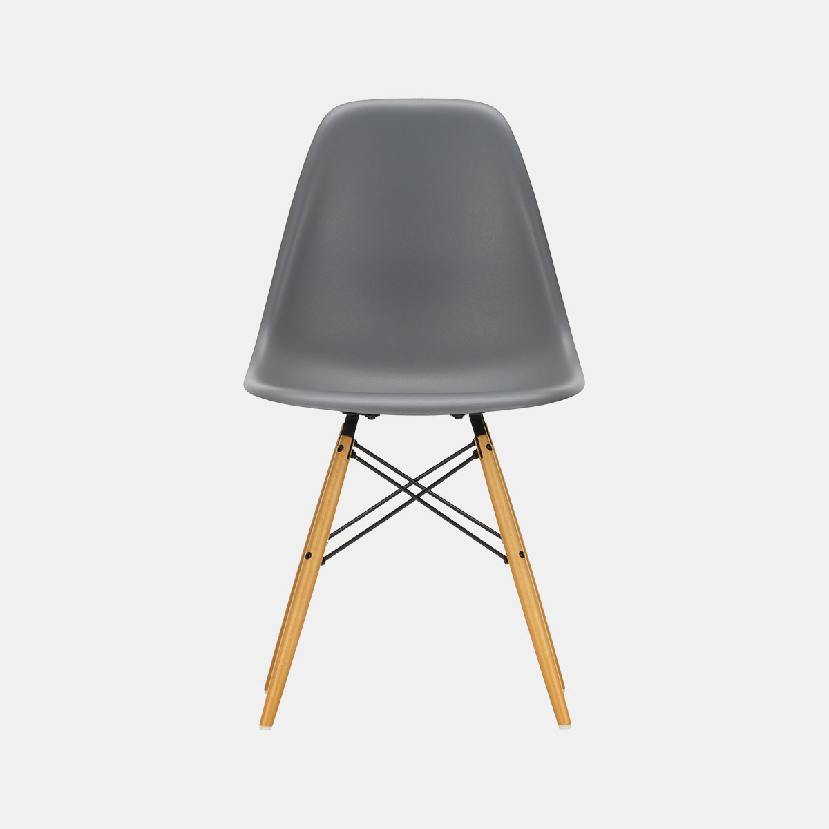 Dsw Eames Stuhl Vitra Eames Plastic Side Chair Dsw Frame Maple Golden – Introo
