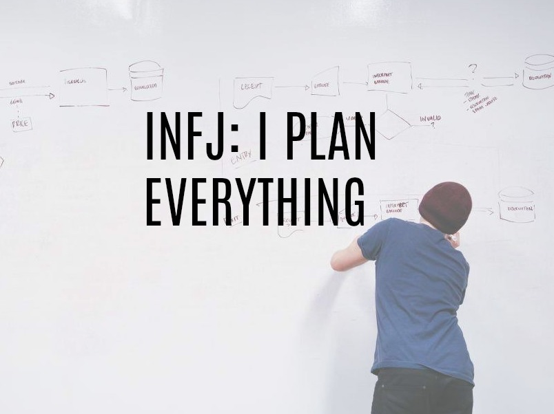 INFJ Personality I Plan Everything - Introvert Spring
