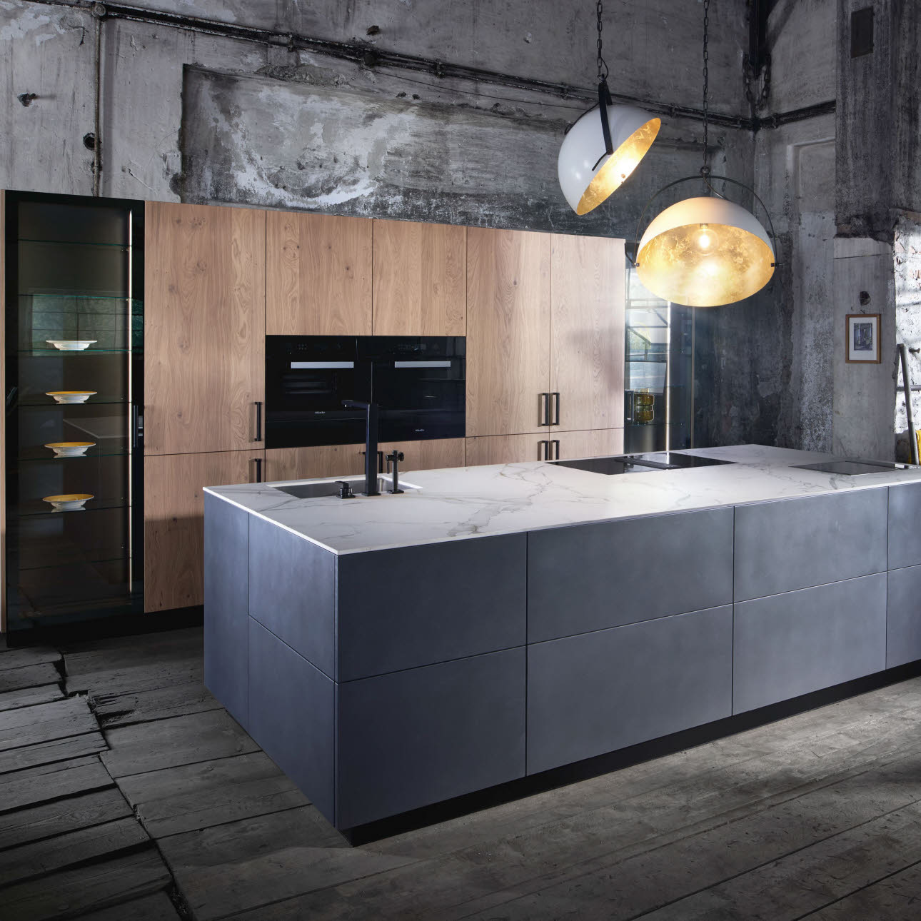Küche Industrielook Industrial Design Kitchen Intuo