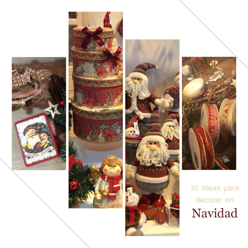 Ideas Para Decoraciones Navideñas 10 Ideas Para Tu Decoración Navideña