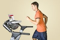 Turn Your Treadmill Into A Workspace With SurfShelf