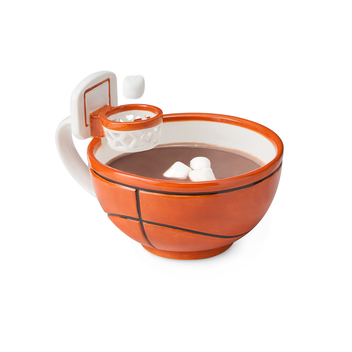 Basketball Coffee Mug With Hoop Want The Perfect Gift For Your Basketball Fan Try The
