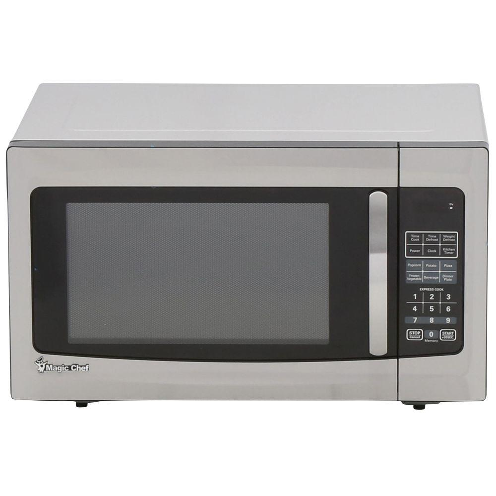 Magic Chef Hmm1611st 1 6 Cu Ft Countertop Microwave Stainless Steel Check Back Soon Blinq