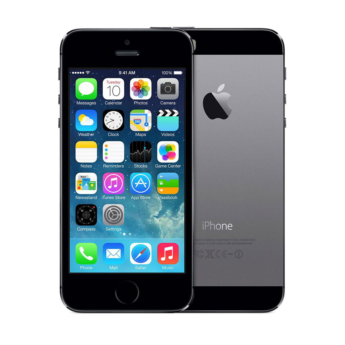 Unlocked apple iphone 5s 32gb ios 7 smartphone space gray me308ll a