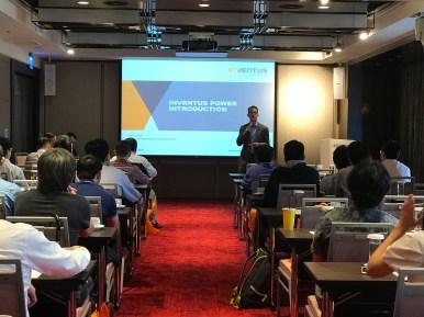 Michael Foy making opening speech at technical seminar in Korea