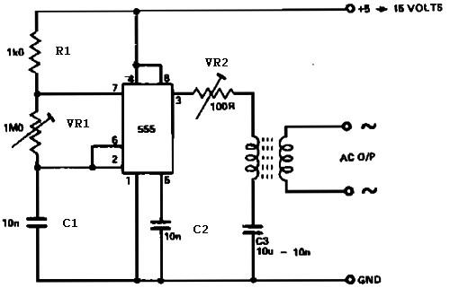 inverter 500w 12v to 220v by 4047 2n3055