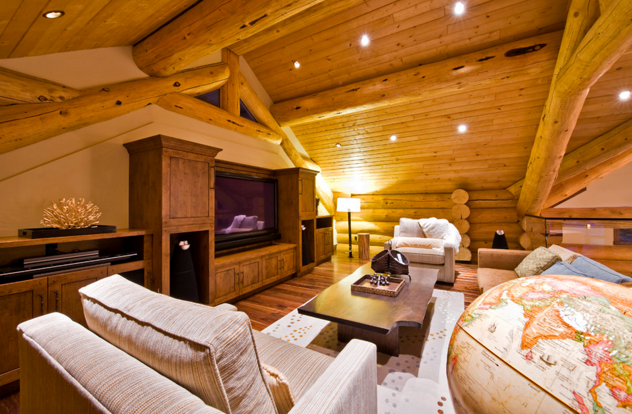 Modern Cabin Decor It 39s On The House Making Extra Cash From Your Home