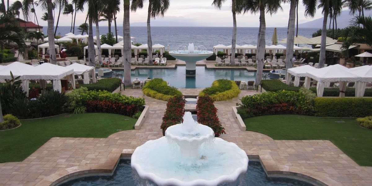 Pool at the Four Seasons Maui