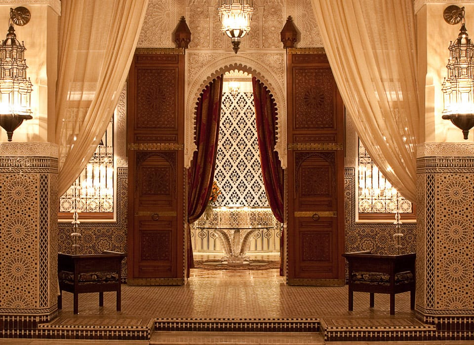 Inside Look:  Royal Mansour, Marrakech