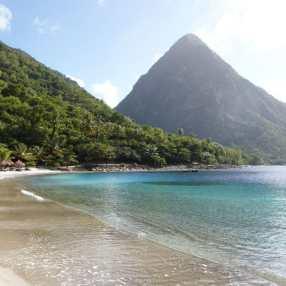 The spectacular beach