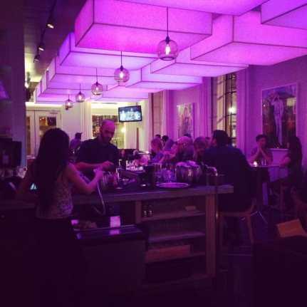 Proof on Main bar at night
