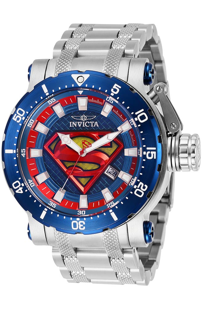 Track Vintage Invicta Dc Comics Limited Edition Superman Mens Automatic