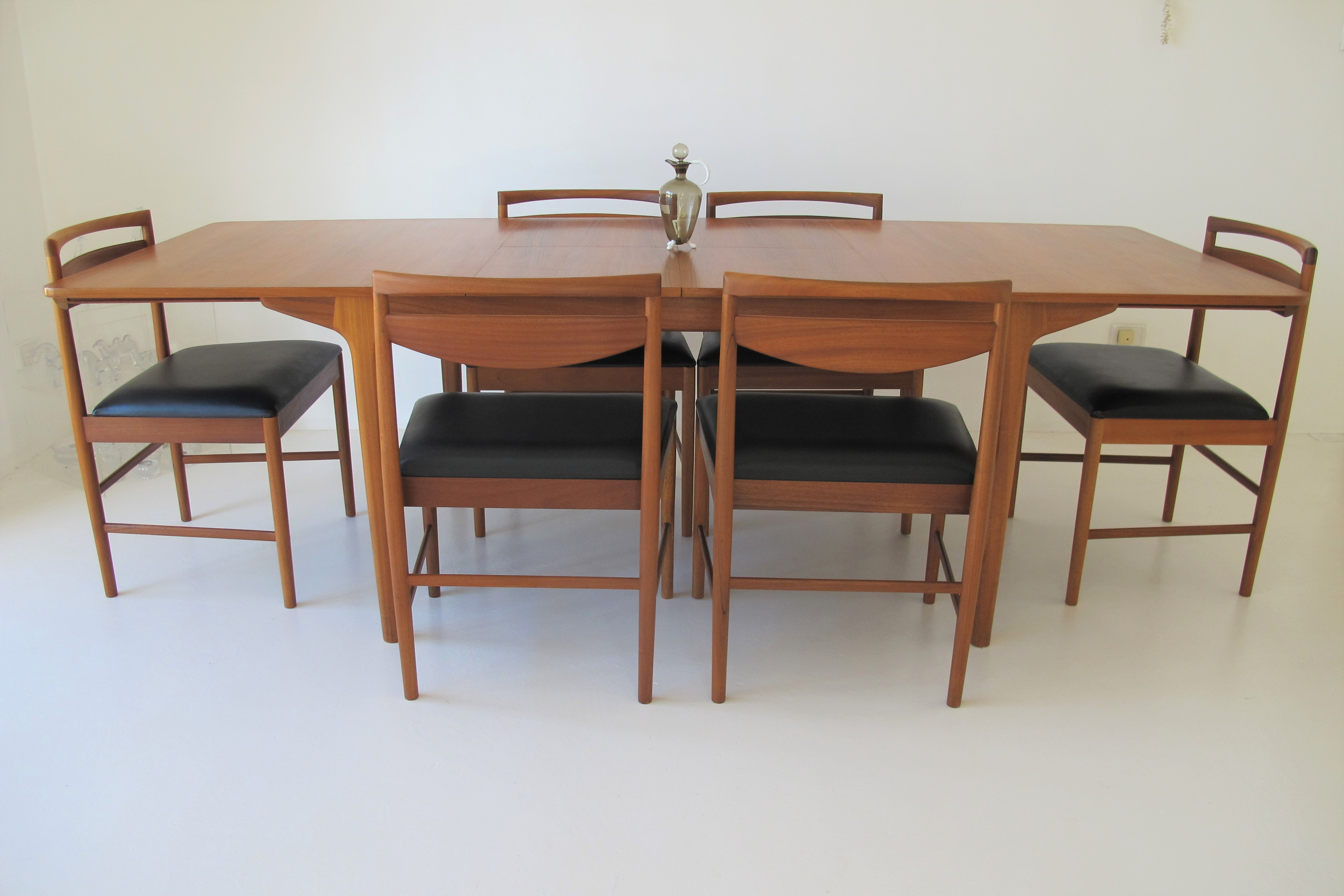 Eames Chairs X6 Teak Dining Chairs X6. Vintage 1970's. Mcintosh Scotland