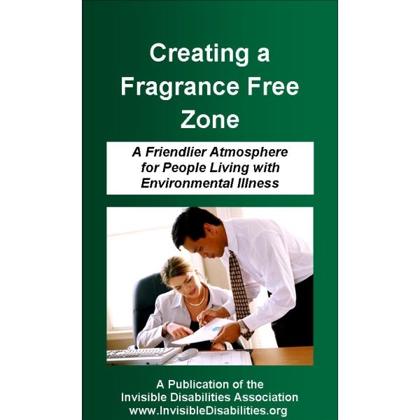 Fragrance-Free Zone Pamphlet Supports Talk About Chemical Sensitivities - free pamphlet