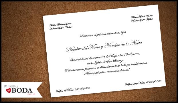 Plantillas Para Invitacion De Boda Awesome De La Boda Y Las De Boda - plantillas para invitaciones gratis