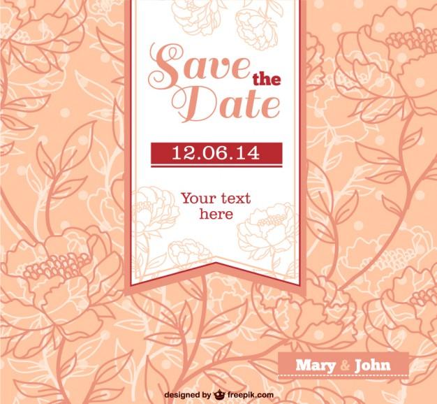 Invitaciones de boda para imprimir gratis Descarga plantillas