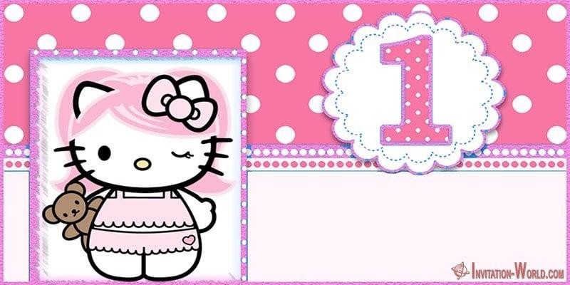 Hello Kitty Invitations - Free Printable Templates Invitation World