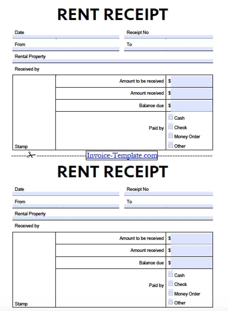 rent receipt template for resume example rent receipt template for construction erp software work procurement management pics photos rent receipt templates