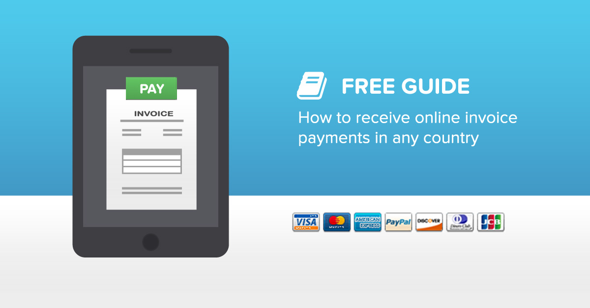 How to receive online invoice payments in any country - Invoicebus - free online invoice system