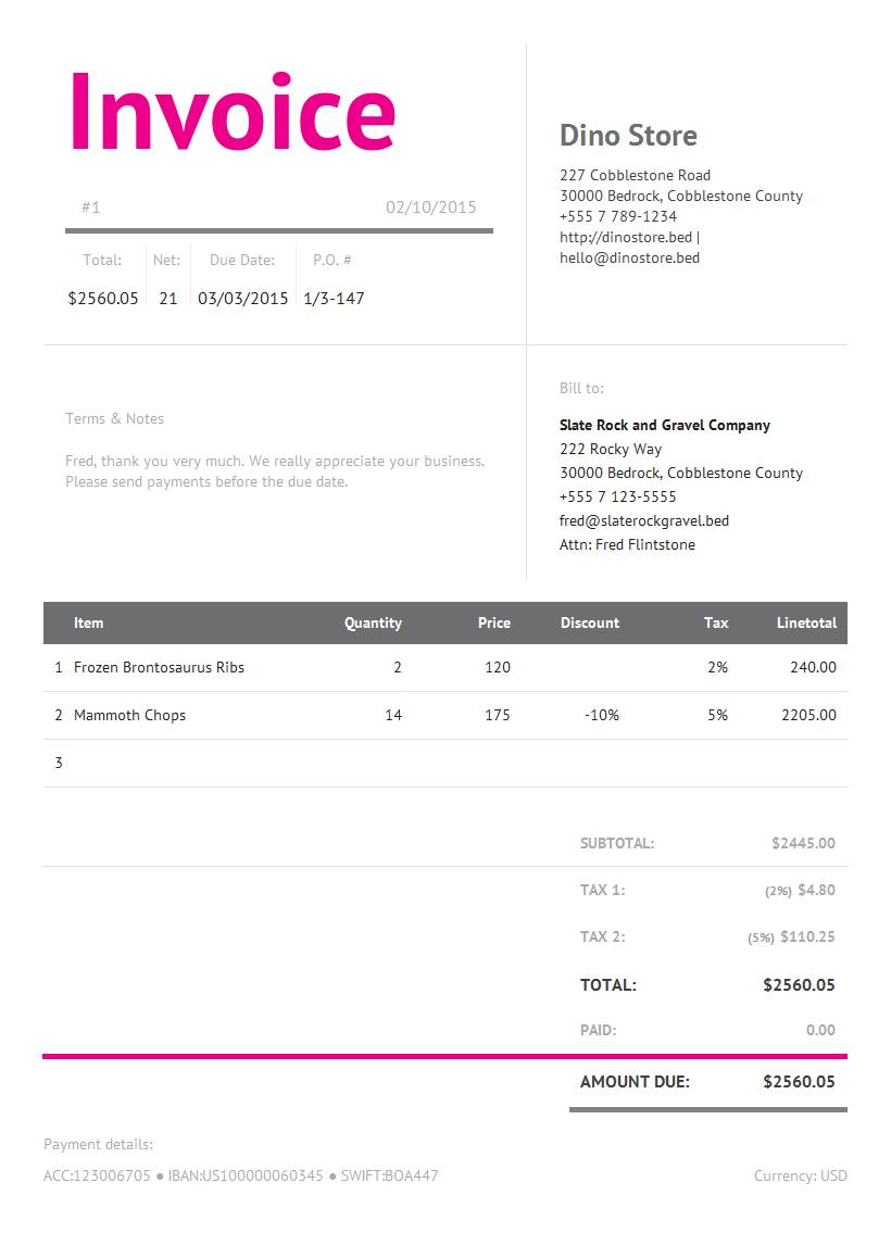 itemized invoice template - livmoore.tk, Invoice templates