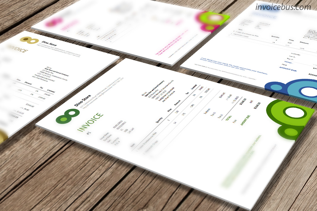 Responsive Invoice Template In Html Css Vip