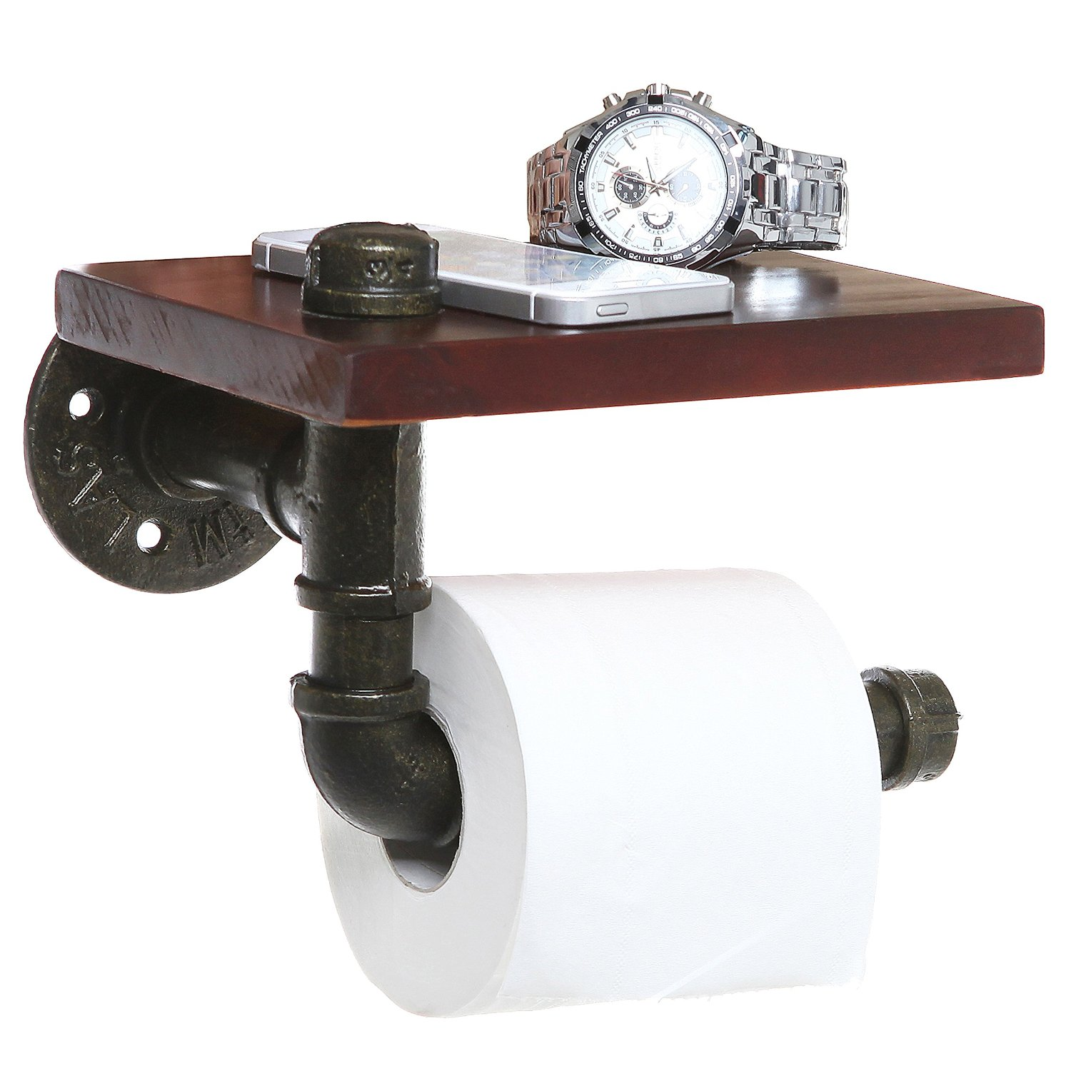 Enclosed Toilet Paper Holder Bathroom Shelves Beautiful And Easy Diy Bathroom