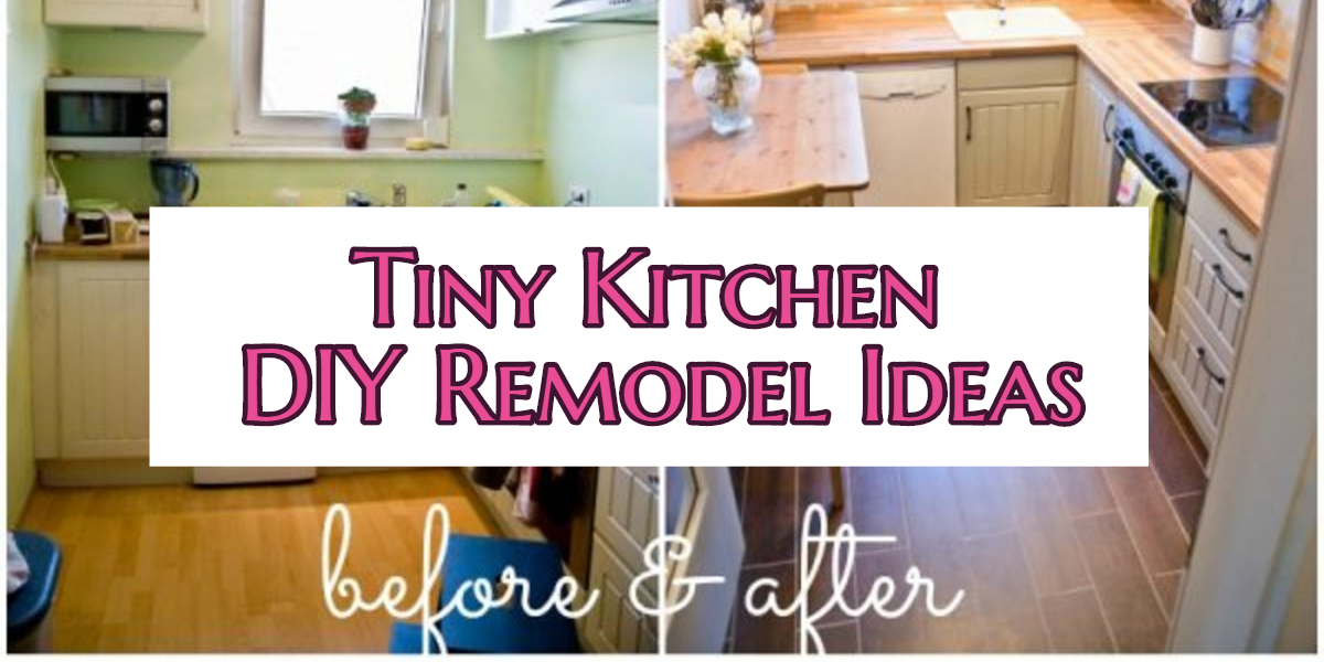 Small Kitchen DIY Ideas - Before \ After Remodel Pictures of Tiny - small kitchen remodel ideas