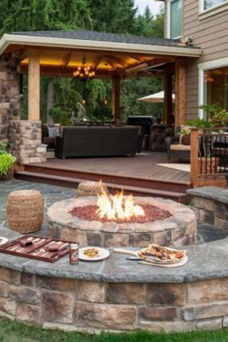 Patio Fire Pit Ideas Backyard Fire Pit Ideas And Designs For Your Yard Deck Or Patio