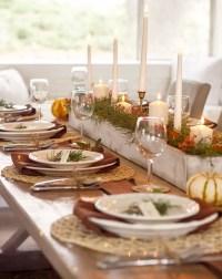 Thanksgiving Dinner Table Setting Ideas - Home Design