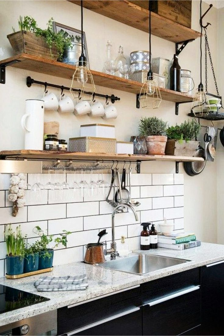 Metro Fliesen Küchenspiegel Farmhouse Kitchen Ideas On A Budget - Involvery Community Blog
