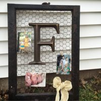 Old Window Frames DIY Ideas and Window Frame Crafts - Easy ...