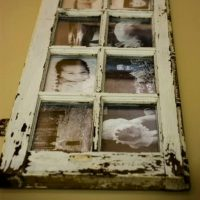 Old Window Frames DIY Ideas and Window Frame Crafts